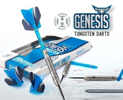 Rzutki Harrows Genesis Tungsten Steeltip gR + GRATIS
