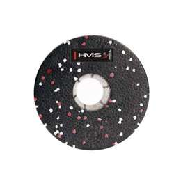 Wałek/Roller fitness HMS FS115 Black/Red 45 cm